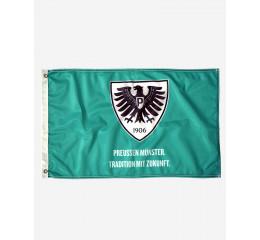 Adler-Fahne 60x40 grün