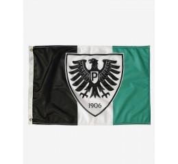 Adler-Fahne 90x60 Blockstreifen