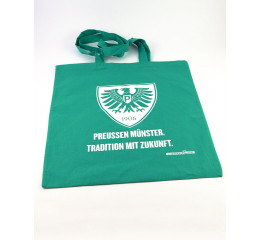 Baumwolltragetasche grün