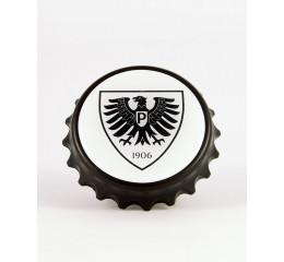 Magnetischer Flaschenöffner Logo